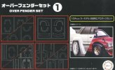 Fujimi 11638 - 1/24 Over Fender Set 1 Garage & Tools No.31