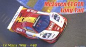 Fujimi 12662 - 1/24 RS-250 McLaren F1 GTR Long Tail Le Mans 1998 #40