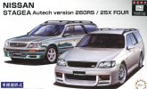 Fujimi 04613 - 1/24 ID-147 Nissan Stagea Autech version 260RS/25X Four
