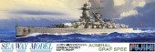 Fujimi 42128 - 1/700 SWM-28 German Pocket Battleship Admiral Graf Spee