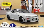 Fujimi 07700 - 1/24 Car Model Easy ES-1 R34 Nissan Skyline GT-R 077000