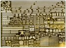 Fujimi 11631 - 1/700 G-up No.135 Photo-Etched Parts for Fune Next IJN Battleship Kongo
