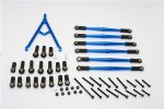 Axial Racing SCX10 Aluminium Adjustable Link Parts With Mount & Inter Changeable Ball Ends For 295mm, 308mm, 315mm Wheelbase - 7pcs set - GPM SCX15049M