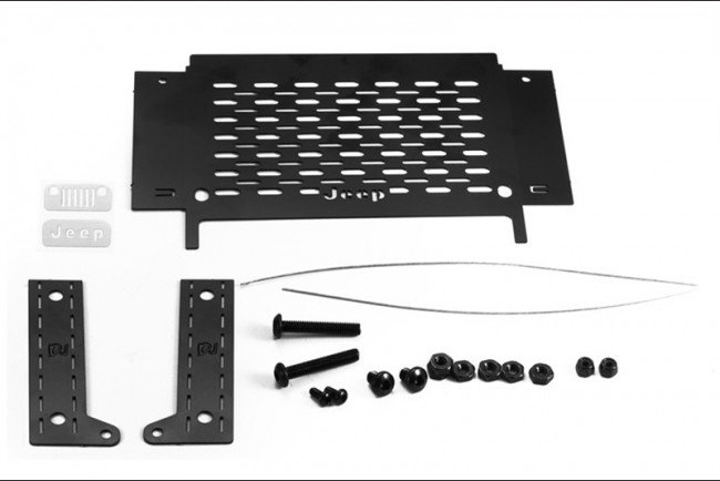 AXIAL Racing SCX10 III JEEP WRANGLER Rear Side Window Tool Box W. Table - 20pc set - GPM SCX3ZSP1