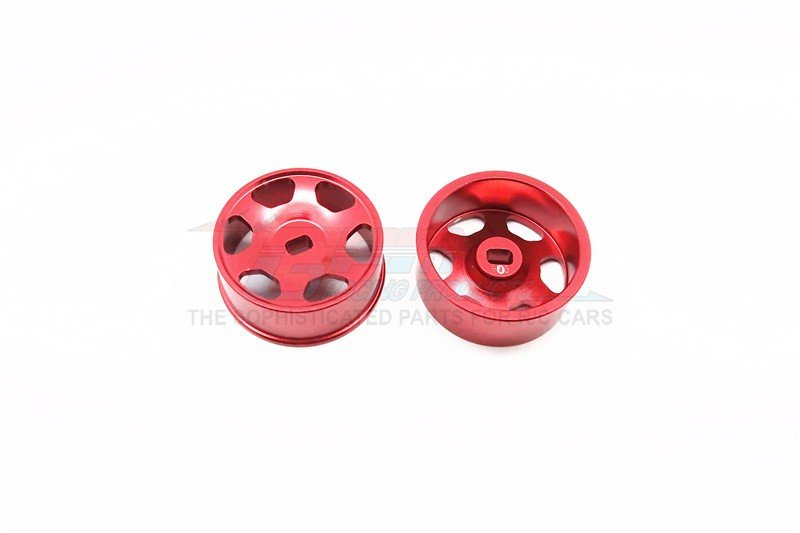 Mini-z AWD Alloy Front/Rear Sinkage Rims (6p, 0mm Off set , Width 8.5mm) - 1pr - GPM MZA603F/R/0