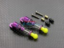 Kyosho Mini-Z Overland Alloy Damper With Collars & Screws & Ball Screws ( 32mm)-1pr set - GPM MOL1332