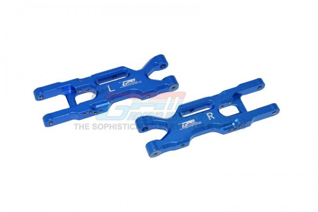 TEAM LOSI MINI-T 2.0 2WD Aluminum Rear Lower Arms - 2pc set - GPM LM056