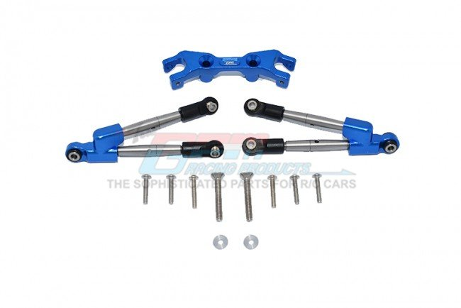 TRAXXAS HOSS 4X4 VXL Aluminum Rear Tie Rods With Stabilizer - 13pc set - GPM HS049R