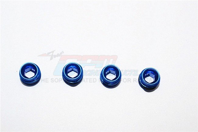 TRAXXAS 1:16 Mini E-REVO  Alloy Collars set Of 4pcs For Erv021 With Sealing Rubber Washer - GPM ERV021/A.CO