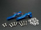 TRAXXAS Tmaxx 3.3 /Tmaxx 1.1 Alloy 2speed Servo Mount With Screws & Collars - 1pr set - GPM TMX1024F