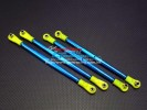 TRAXXAS Tmaxx 3.3 #4909 Alloy Front/Rear Tie Rod - 4pcs set - GPM TMX3160