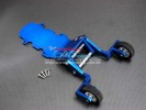 TRAXXAS Tmaxx 3.3 #4909 Alloy Rear Wheelie Bar With Rims & Tires & Screws - 1set - GPM TMX3333R