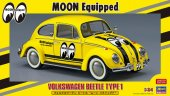 Hasegawa 20357 - 1/24 Volkswagen Beetle Moon Equipped Versions