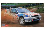 Hasegawa 20438 - 1/24 Toyota Corolla WRC 1998 Rally of Great Britain