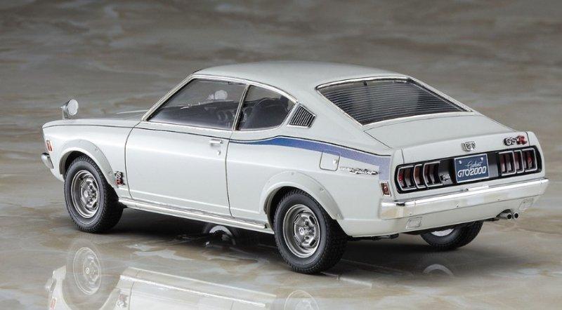 Hasegawa HC-30 Mitsubishi Galant GTO 2000GSR Early Type 1//24 Scale kit