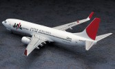 Hasegawa 10736 - 1/200 No.36 Boeing 737-800 JAL Japan Airlines