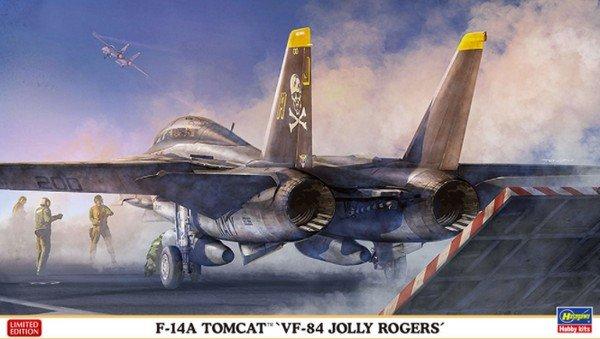 Hasegawa 02269 1 72 F 14a Tomcat Jolly Rogers Vf 84