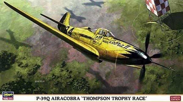 Hasegawa 9974 - 1/48 P-39Q Airacobra Thompson Trophy Race