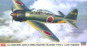 Hasegawa 9929 - 1/48 2st Kokusho A6M2-K Zero Fighter Trainer Type 11 Late Version
