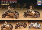Hasegawa 36116 - 1/48 X48-16 Type 97 Motorcycle with SideCar (Two Kits Set)
