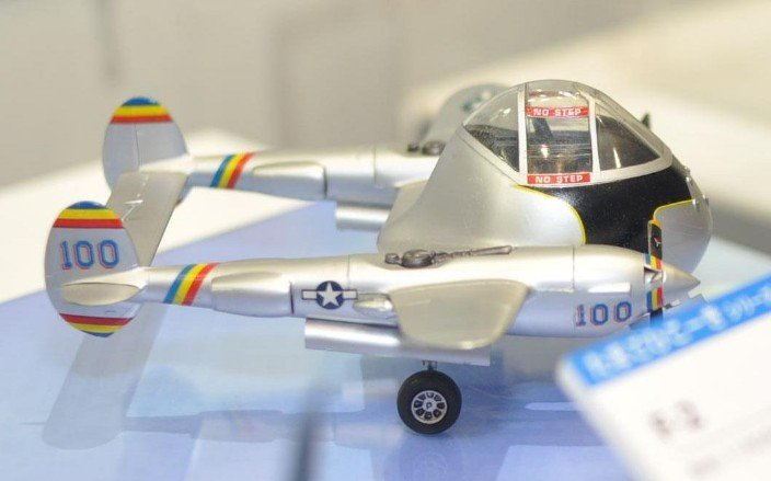 Hasegawa Egg Plane P-38 Lightning