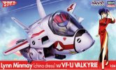 Hasegawa 65847 - 1/24 LYnn Minmay (China Dress) with VF-1J Valkyrie Macross