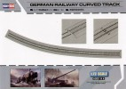 Hobby Boss 82910 1/72 German Railway Curved Track