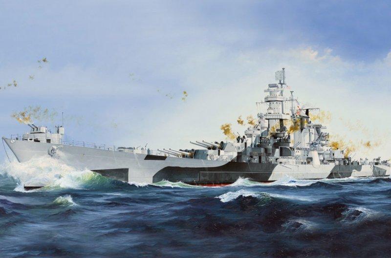 Hobby Boss 86513 - 1/350 USS Alaska CB-1