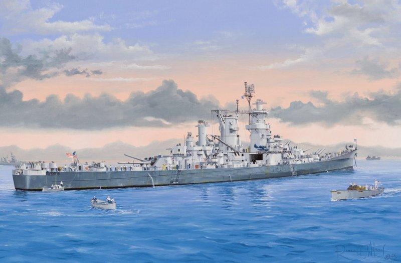 Hobby Boss 86514 - 1/350 USS Guam CB-2
