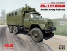 ICM 35517 - 1/35 ZiL-131 KShM, Soviet Army Vehicle