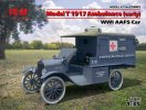 ICM 35665 - 1/35 Model T 1917 Ambulance (early), WWI Aafs Car