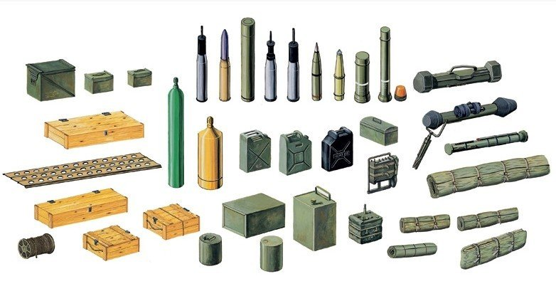 Italeri 6423 - 1/35 Modern Battle Accessories