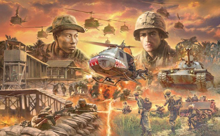 Italeri 6184 - 1/72 Operation Silver Bayonet Vietnam War 1965 Battle Set
