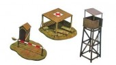 Italeri 6130 - 1/72 Battlefield Buildings