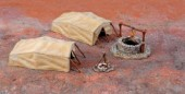 Italeri 6148 - 1/72 Desert Well And Tents
