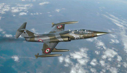 Italeri 2509 - 1/32 Lockheed TF-104G Starfighter