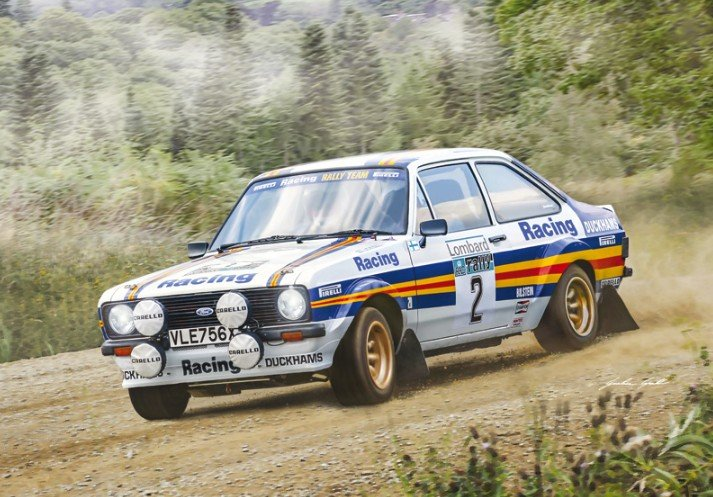 Italeri 3650 - 1/24 Ford Escort RS1800 Mk.II Lombard RAC Rally