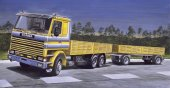 Italeri 770 - 1/24 Scania 142M Flat BED Truck and Trailer
