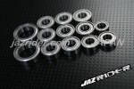 HPI Nitro Rush / Rush EVO CHASSIS 8454 Metal Shielded RC Ball Bearing Set  - Jazrider [JR-CBR-HP-003]
