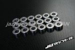 Tamiya WR-02/WR-02CB/Wild Willy 2/Comical Grasshopper/58242/58662 Chassis Metal Shielded RC Ball Bearing Set - Jazrider [JR-CBR-TM-003]
