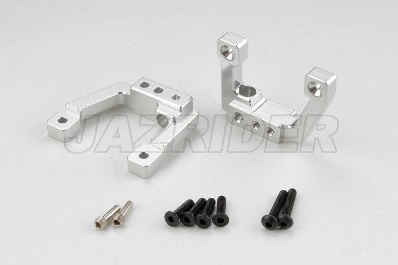 Jazrider Aluminum Front Shock Damper Mount Plate Set For Element Enduro RC Truck
