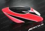 Glass Fibre Canopy (Red w/ Black Stripe) For Align T-rex TRex 500 parts - Jazrider Brand [JR-HAG-TX500-054]