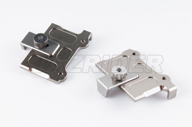 For Kyosho Optima//Javelin Black Jazrider Aluminum Front Upper Pivot Rod Mount