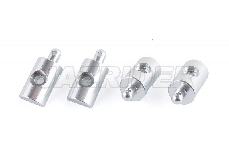 Jazrider Aluminum Body Mount Set For Tamiya RC Lunch Box//58347//58575 4pcs,GU