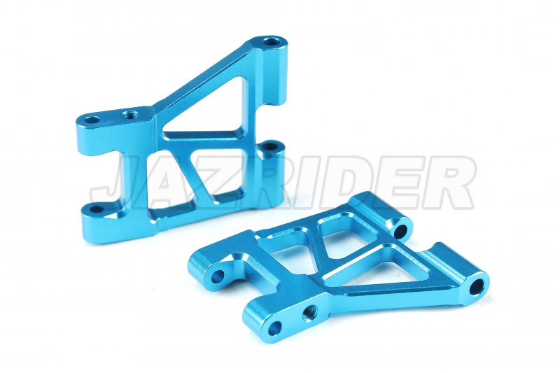 Tamiya M-07 Aluminum Rear Suspension Arms (Blue)