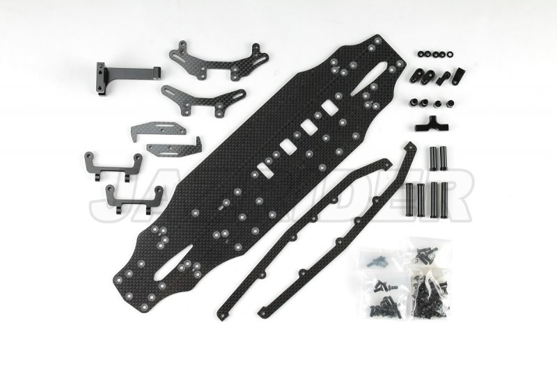 Carbon Conversion Kit Upgrade Set For Tamiya TA07 Pro Chassis