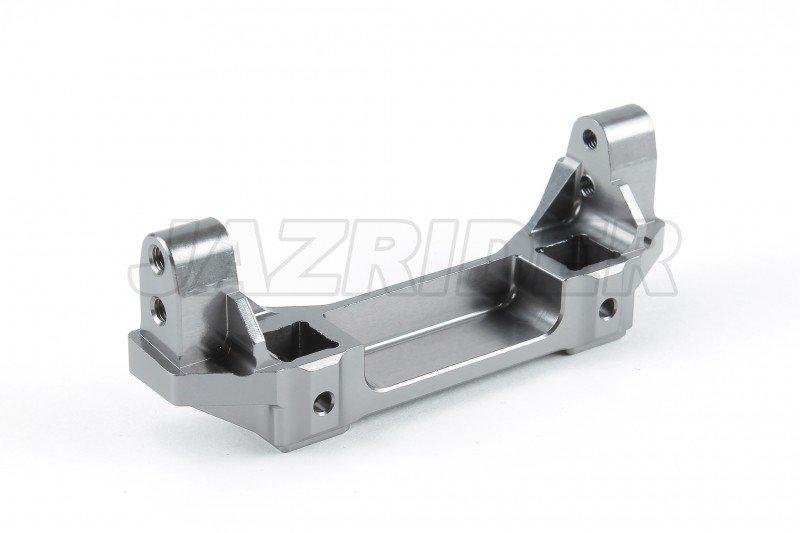 Gun Metal For Traxxas TRX-4 RC Crawler Jazrider Aluminum Front Bumper Mount