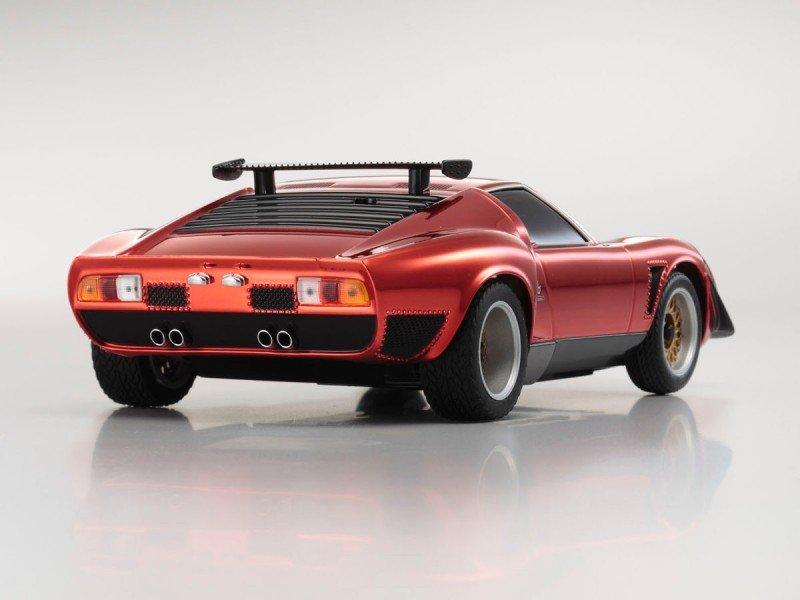 Kyosho Mzp36cr Asc Mr 03n Rm Lamborghini Jota Chrome Red