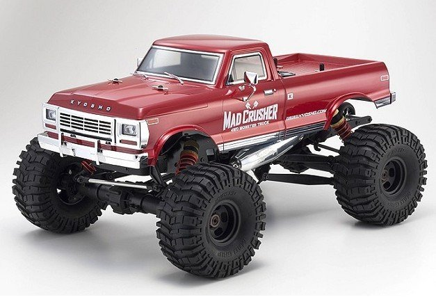 Kyosho 33152 - 1/8 Mad Crusher GP-MT 4WD Readyset R/S
