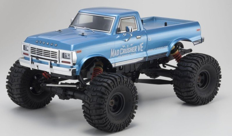 Kyosho 34253 - 1/8 Mad Crusher VE EP-MT 4WD Readyset R/S 4WD Monster Truck